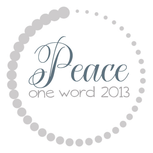 OneWord2013_Peace